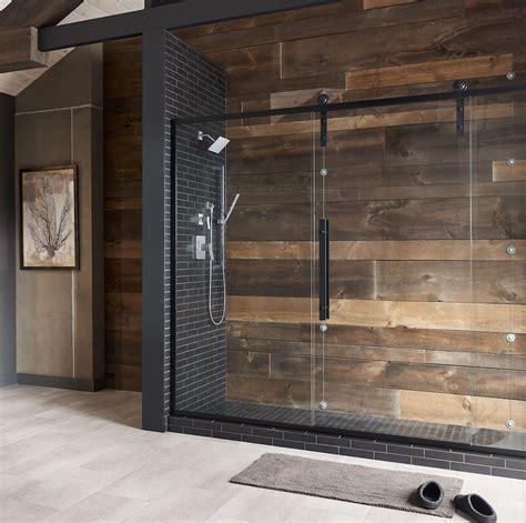 coastal shower doors introduces  shower barn door