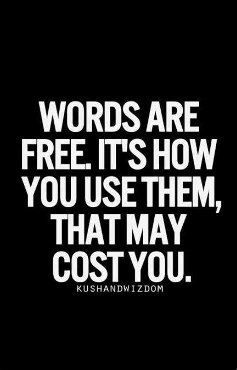 It's best to refrain from speaking . . . Just listen