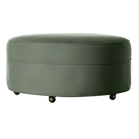 Blue Tufted Ottoman Home Decorators Collection Gordon Blue Tufted Ottoman 0849700310 The Home Depot