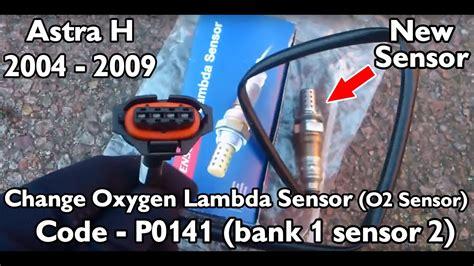 astra     replace oxygen lambda sensor p