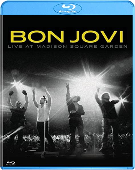 Live At Square Garden by Bon Jovi Live At Square Garden 2010