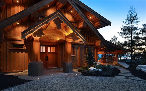 Attractive Lodge Plans Pictures #2: Mixal_PostBeam_03.jpg
