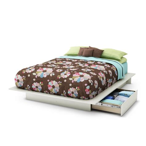 full queen bed south shore step one full queen platform bed 54 60