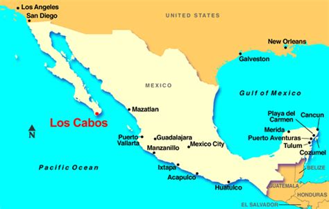 map of mexico cabo los cabos map toursmaps