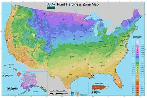 planting zone map usa hardiness zone