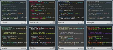 themes download in java where can i download intellij idea 10 color schemes