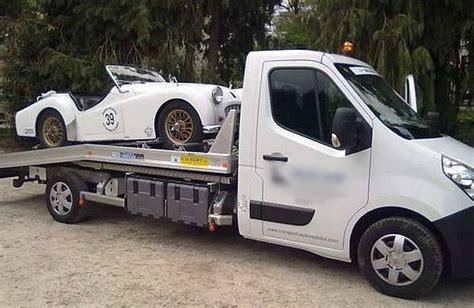 transport porte voiture transporter une voiture de collection