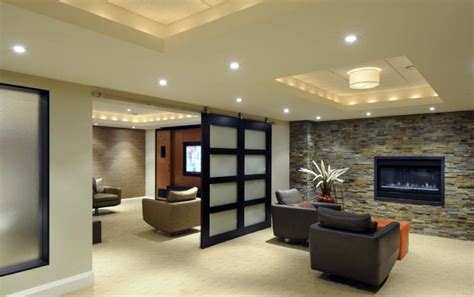 Lighting Ideas For Basement 18 Lighting Ideas For Basement To Provide Spacious Feeling
