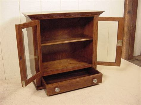 Counter Cabinet by Oak Counter Display Cabinet