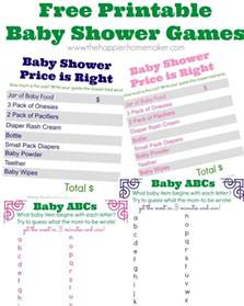 22 free baby shower to play tip junkie