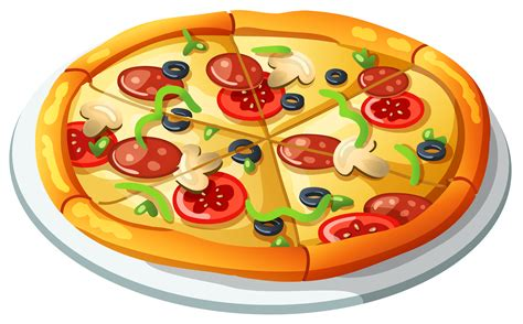 clipart pizza pizza vector clipart cliparting