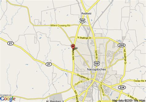nacogdoches texas map map of best western northpark inn nacogdoches