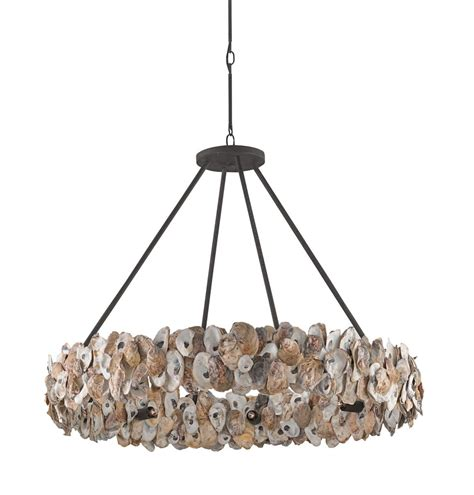 Oyster Chandelier Oyster Circle Chandelier Design By Currey Company