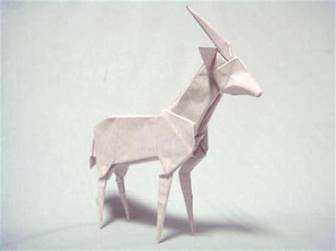 Origami Weasel - origami encyclopedia of japan
