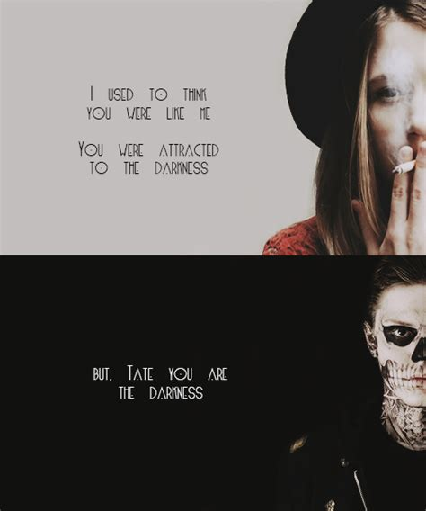 american horror story quote americanhorrorstory quote tate from american horror story quotes quotesgram