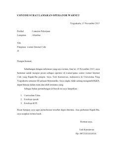 cara membuat surat lamaran kerja security 9 contoh surat lamaran kerja fresh graduate contoh