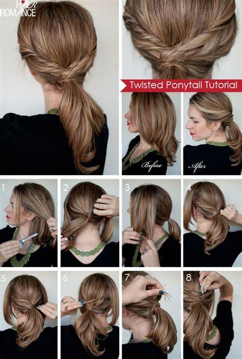 hair tutorial hair tutorials 20 ways to style your hair in summer
