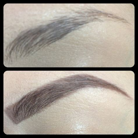 Drawing Eyebrows by How I Draw Fill In My Eyebrows
