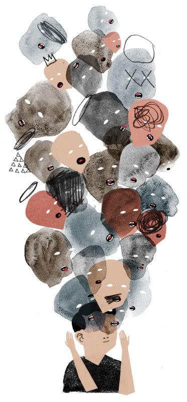 voci nella testa keith negley illustratore di stati d animo