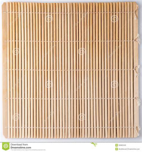stuoia sushi stuoia di bamb 249 per i sushi immagini stock libere da