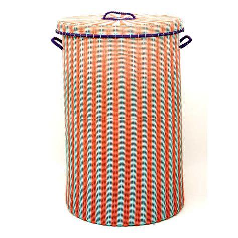orange laundry pistachio and orange laundry basket milagros