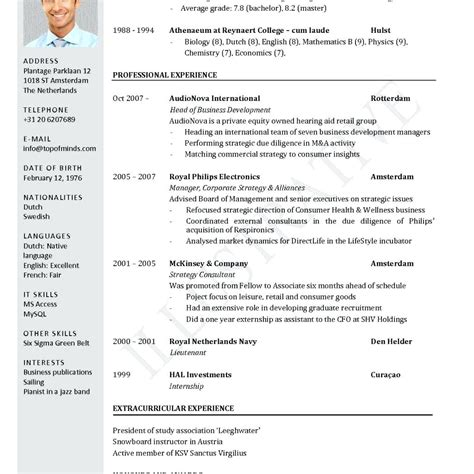 Physics Cv Template cv template physics image collections certificate