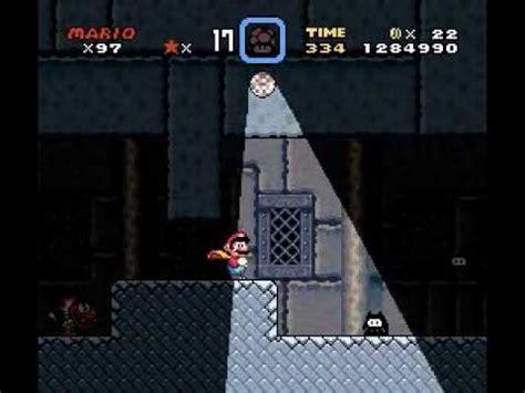 Super Mario World Super Nes Ultimo Castelo Front Door Front Door Mario World