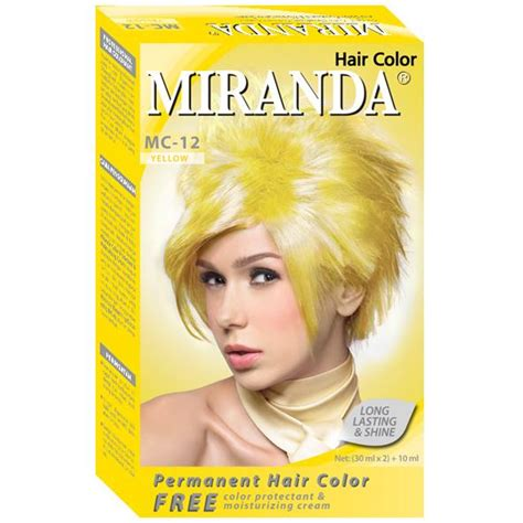 A31 Miranda Hair Color 30ml miranda hair color yellow 30ml gogobli