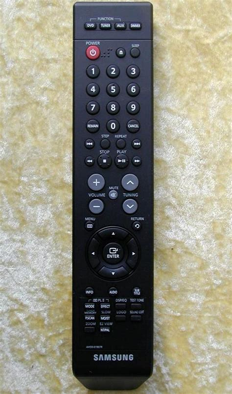 samsung remote ah59 01907r for dvd home theater ebay