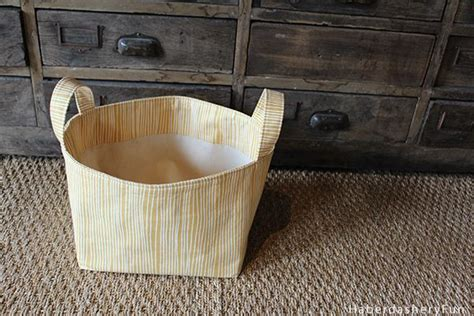 diy fabric storage box with a handle shelterness 821 best sewing ideas images on pinterest sewing ideas