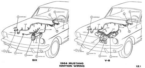 1969 mustang headlight wiring wiring diagrams wiring