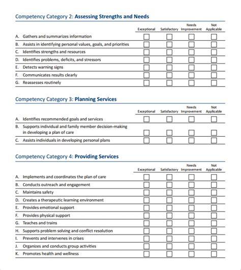 sales skills assessment template 10 skills assessment tips and exles pdf