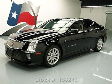buy car manuals 2006 cadillac sts v free book repair manuals find used 2006 cadillac sts v sedan auto sunroof nav supercharged texas direct auto in stafford