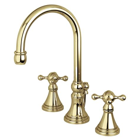 kingston brass bathroom faucet kingston brass ks2982kx governor widespread lavatory