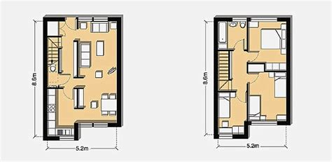 how big is 40 square meters 40 square meter house floor plans house plans