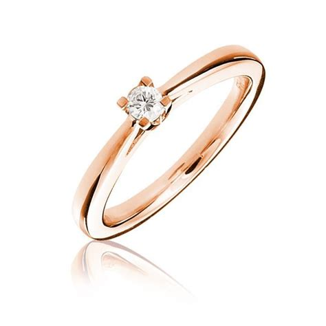 pink gold engagement rings