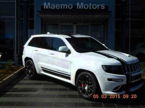 used 2015 jeep grand cherokee 6.4 l v8 srt8 a/t auto for