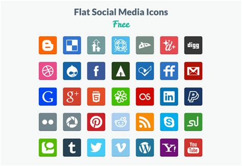 Best Resume App For Iphone 2016 by 20 Beautiful Free Flat Social Media Icons Sets 2017 Colorlib
