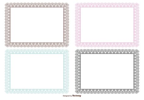 Avery Business Card Templates With Borders by Certificate Border Template Free Gallery Avery Business