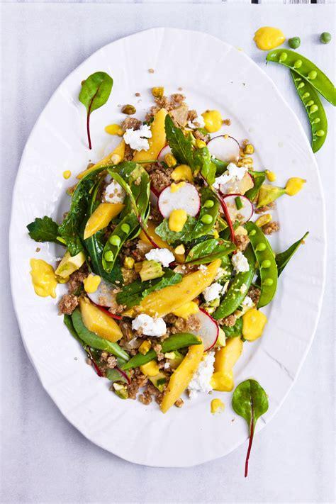 Garden Vegetable Salad Garden Vegetable Salad With Preserved Lemons