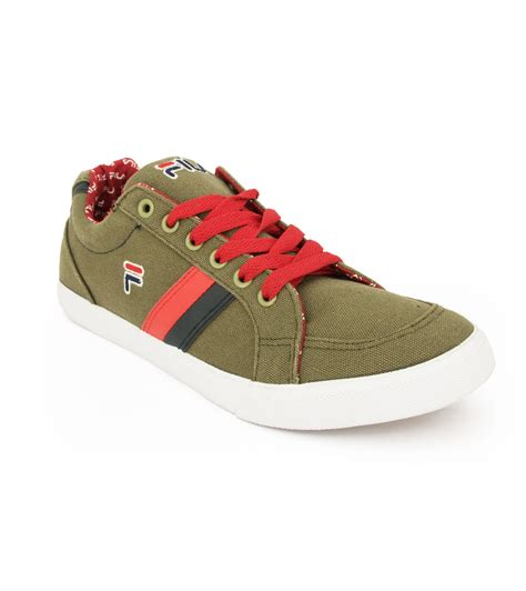 fila green canvas shoes price in india buy fila green