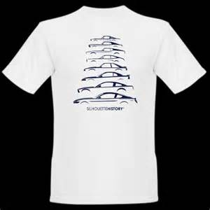 Ford Mustang T Shirt Silhouettehistory