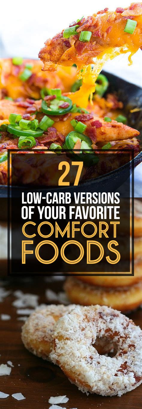 low carb comfort food 27 low carb versions of your favorite comfort foods