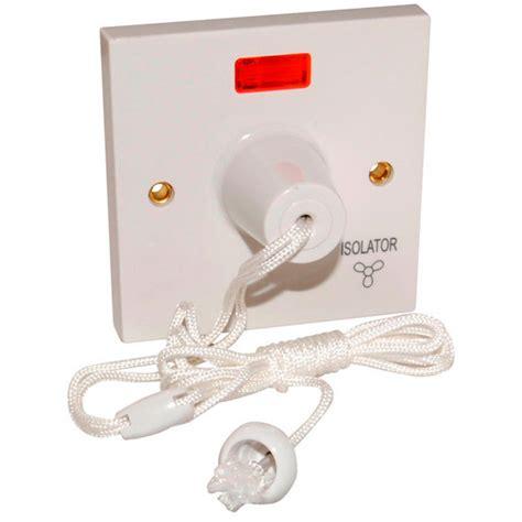 fan isolator pull switch wiring best free home