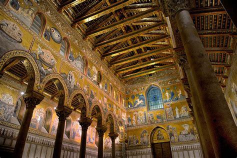 duomo di monreale interno dall interno della cattedrale di monreale juzaphoto