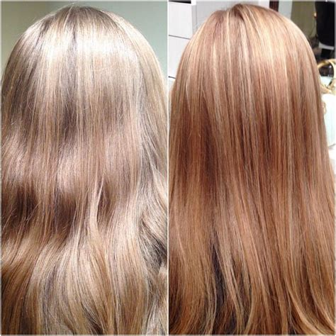best toner for highlighted hair a before and after from kamen at or dulles location