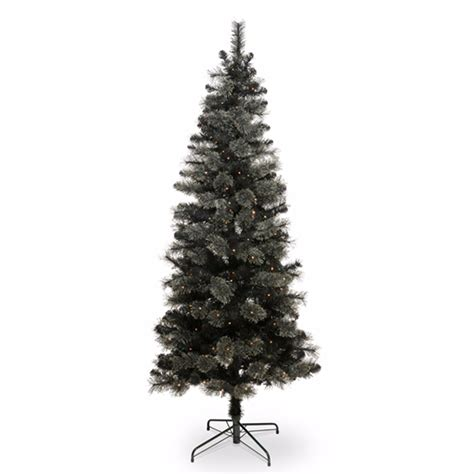 b and q artificial christmas trees best artificial trees to light up the festive season ideal home