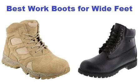 top 10 best work boots for wide feet in 2018 complete guide