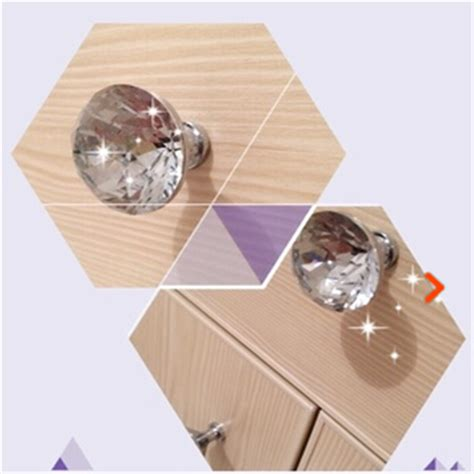 bedroom dresser drawer pulls 10pcs lot clear glass handles bedroom furniture
