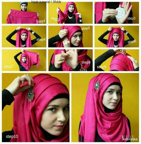 tutorial hijab yudisium 17 best images about hijab on pinterest turban style